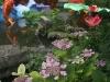 Jiang Tai Gong Fishing and Hydrangea