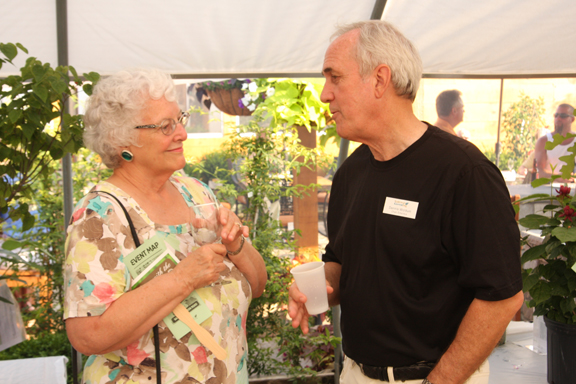 Sue Reed and Dennis Woldman