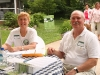 Master Gardener Ann Case and Volunteer Ron Schlapprizzi