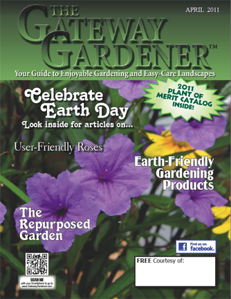 an image of the cover of The Gateway Gardener 2011 issue