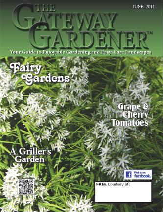 an image of the June 2011 Gateway Gardener magazine cover