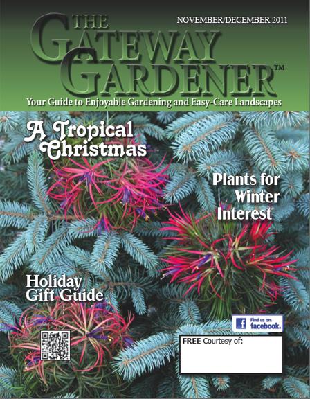 an image of The Gateway Gardener November/December 2011 Cover