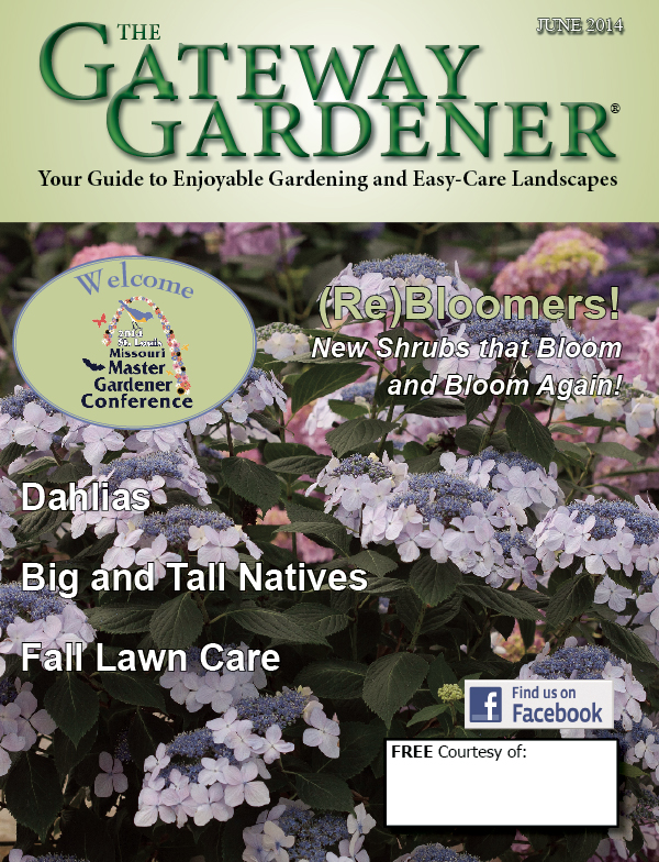 An image of the cover for the Gateway Gardener September 2014 issue.