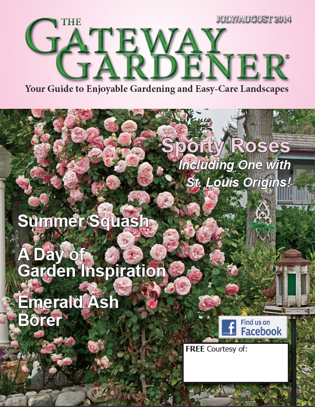 An image of the cover of The Gateway Gardener July/August 2014 issue