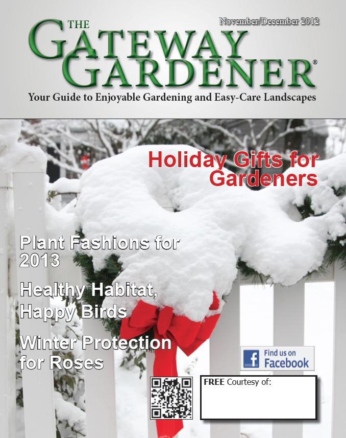 Image for The Gateway Gardener magazine November-December 2012 issue