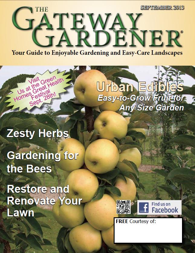 An image of The Gateway Gardener September 2013 Cover
