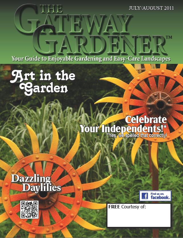 Image of the cover of The Gateway Gardener July/August 2011 issue