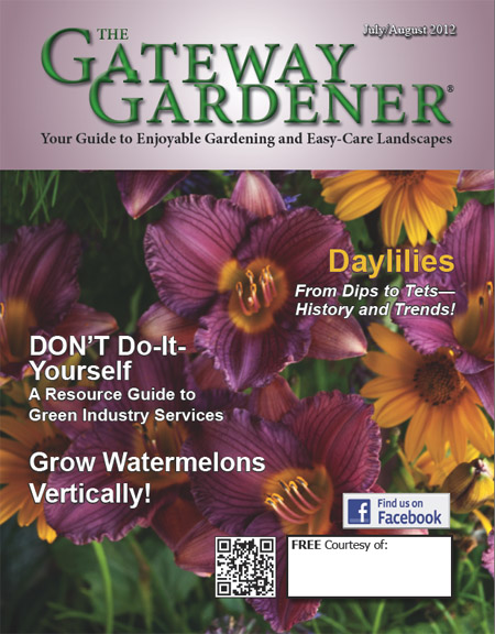 An image of The Gateway Gardener July/August 2012 Cover