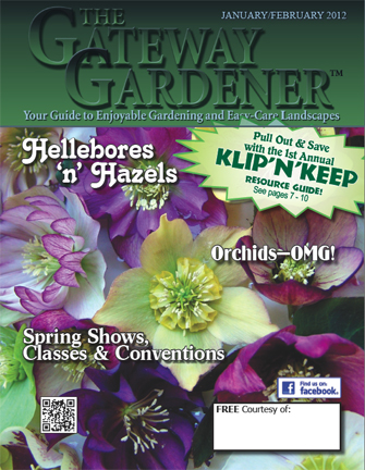 An image of The Gateway Gardener Jan/Feb 2012 Cover