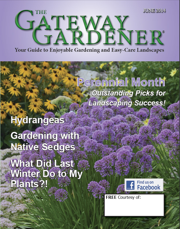 An image of The Gateway Gardener Magazine 2014 Cover