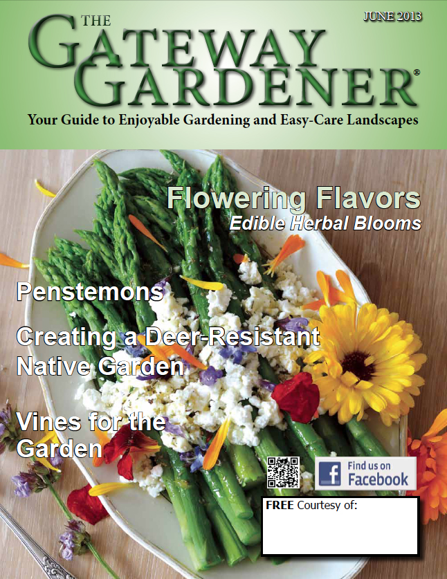 an image of the cover of The Gateway Gardener June 2013 issue