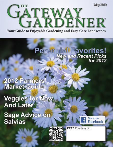Cover art for The Gateway Gardener May 2012 issue