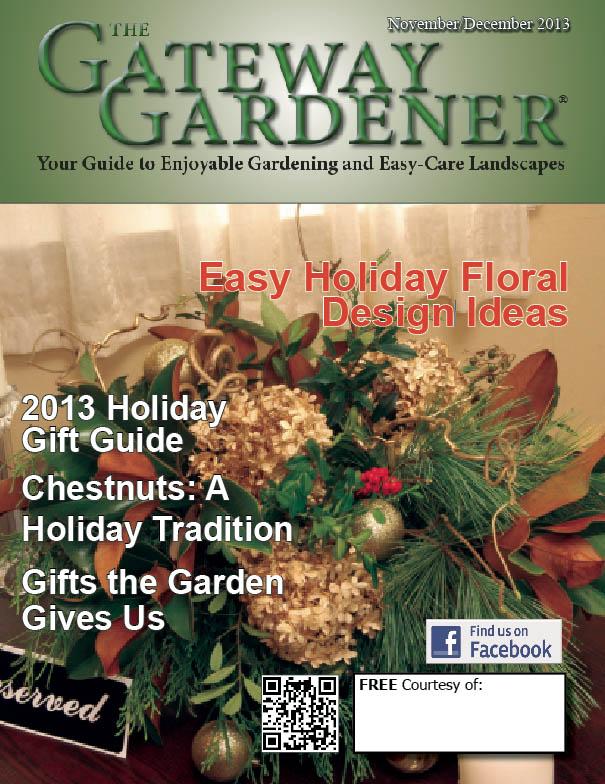 An image of the cover of The Gateway Gardener Nov/Dec 2013 issue