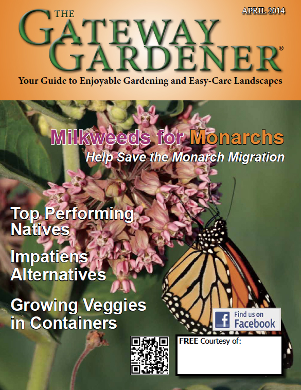 An image of The Gateway Gardener April 2014 Cover