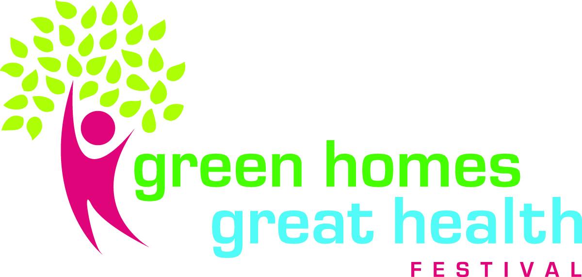 An image of the Green Homes Festival logo