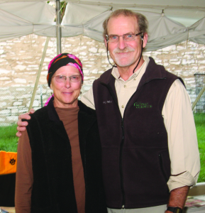 A photo of Cindy Gilberg and Robert Weaver
