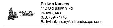 Ballwin Nursery LInk