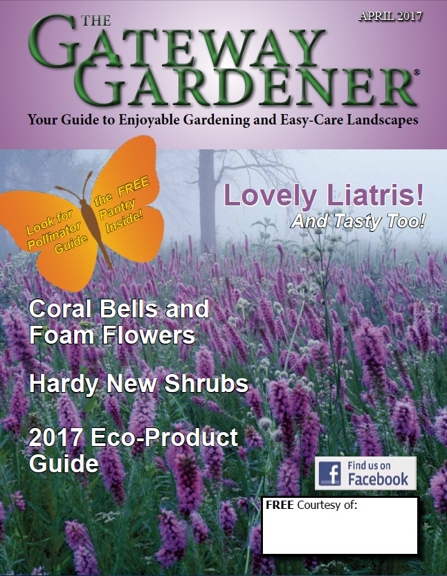 An image of The Gateway Gardener April 2017 cover