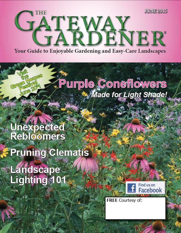 An image of The Gateway Gardener June 2015 cover