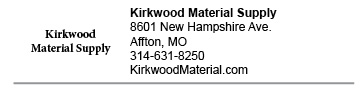 Kirkwood Material Supply Affton link