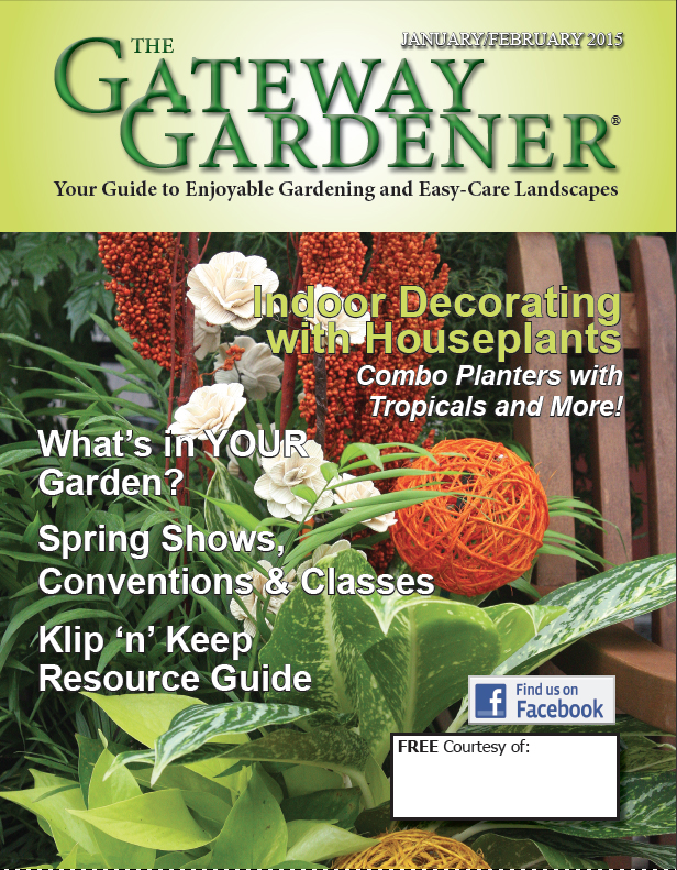 An image of The Gateway Gardener Jan/Feb 2015 cover