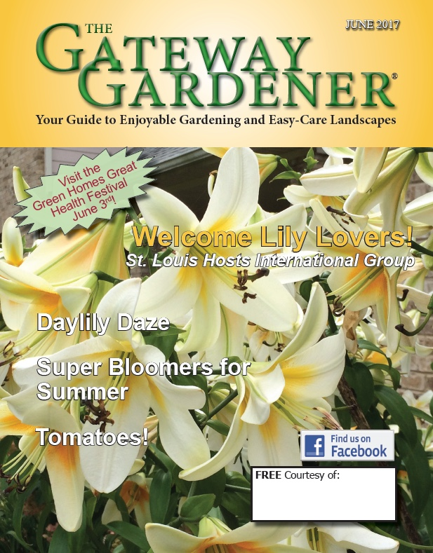 An image of The Gateway Gardener June 2017 Cover