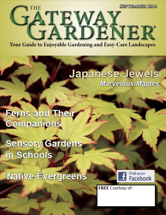 An image of The Gateway Gardener September cover