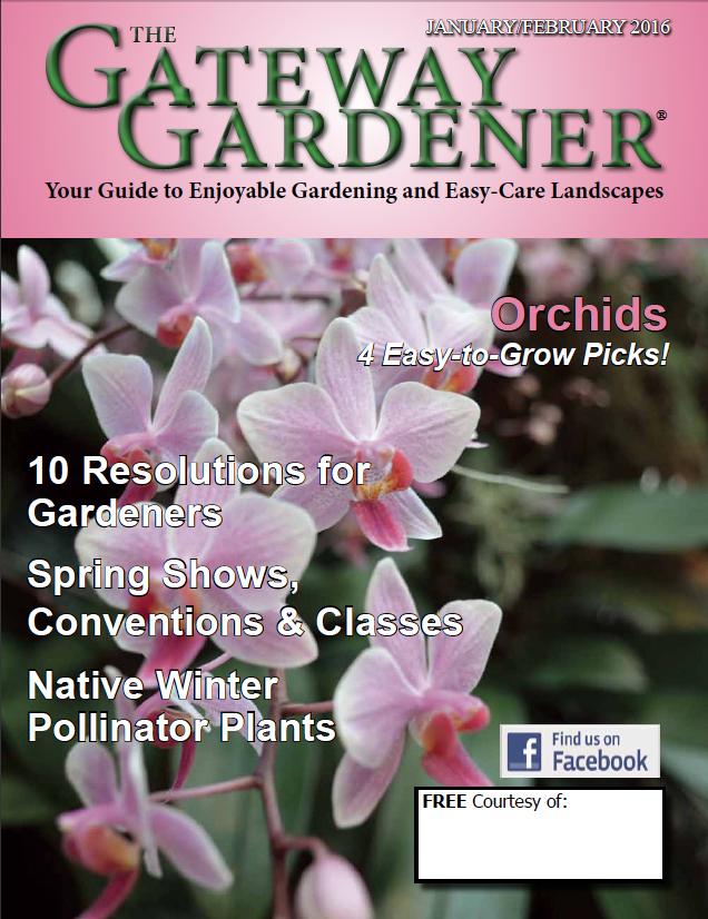 cover image of The Gateway Gardener Jan/Feb 2016 issue