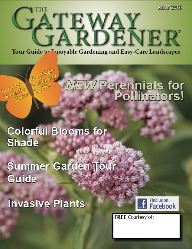 Cover image of Gateway Gardener magazine May 2016 issue