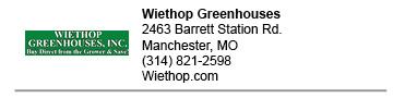 Wiethop Greenhouses West