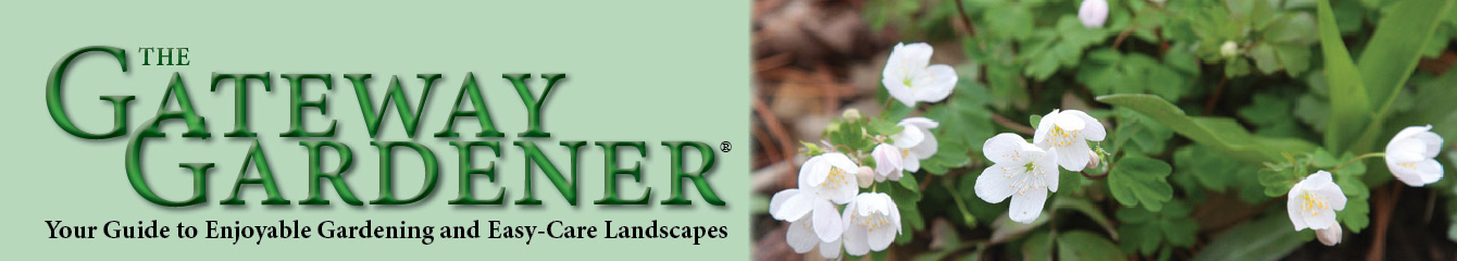 The Gateway Gardener website header spring 2016