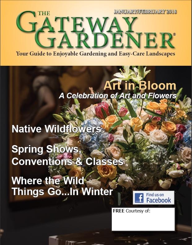 Cover artwork for Gateway Gardener Jan/Feb 2018