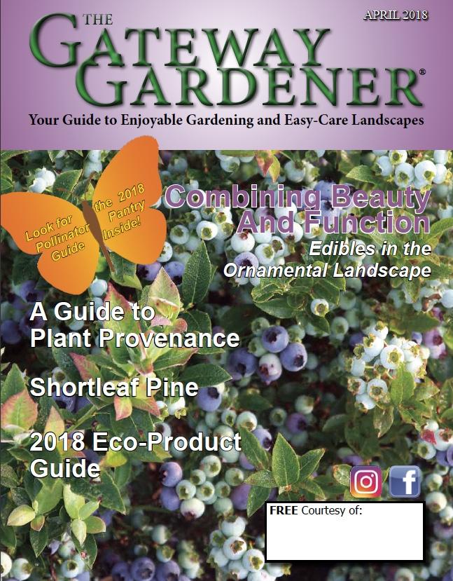 Gateway Gardener April 2018 cover