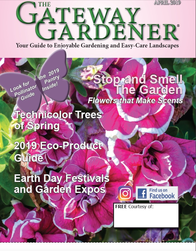 An image of the Gateway Gardener April 2019 Cover