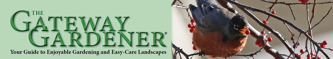 Gateway Gardener logo and photo of bird and berry