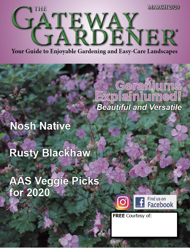 Gateway Gardener March 2020 Cover art