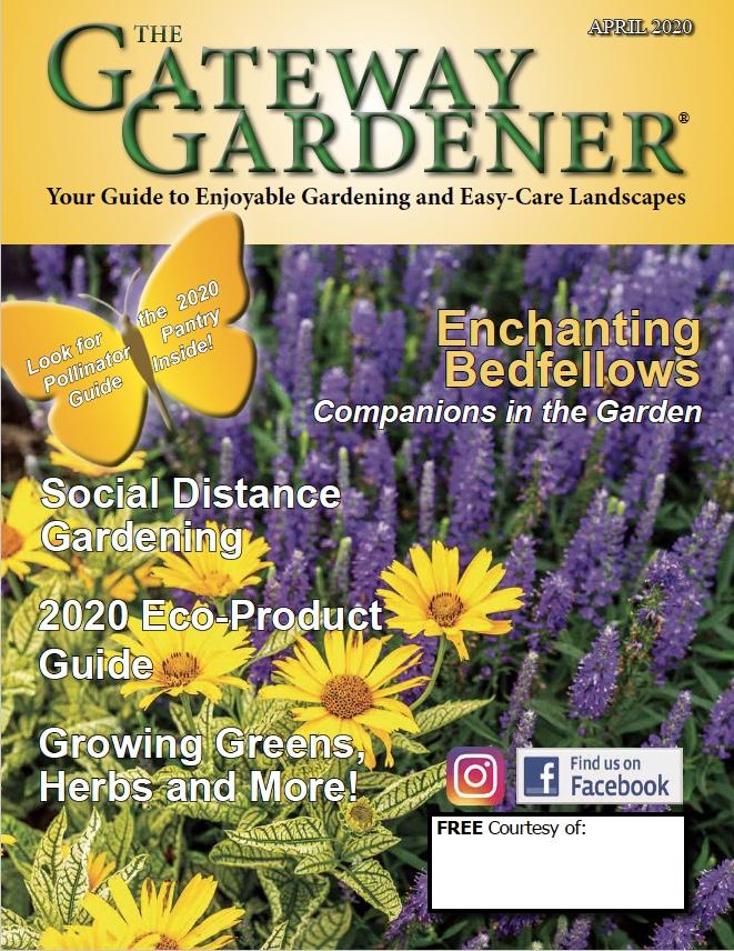 Gateway Gardener April 2020 cover
