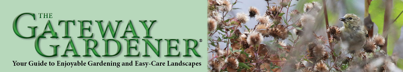 image of Gateway Gardener logo with goldfinch picture