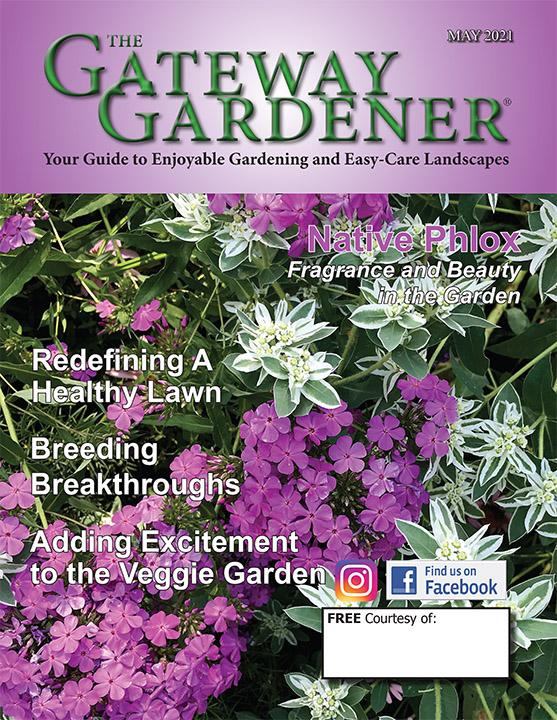 May 2021 Gateway Gardener Cover
