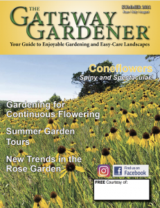 A picture of the Gateway Gardener Summer 2021 cover
